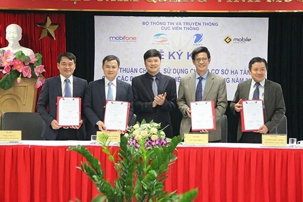 Operadores de telefonia movil en Vietnam compartiran estaciones emisoras hinh anh 1