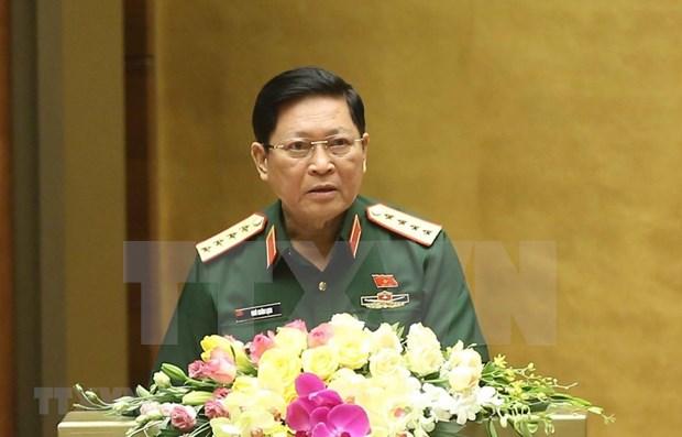 Aceleran preparativos en Vietnam para Congreso partidista del Departamento General de Politica hinh anh 1