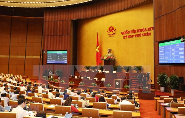 Parlamento de Vietnam aprueba programa de elaboracion de leyes y ordenanzas de 2021 hinh anh 1