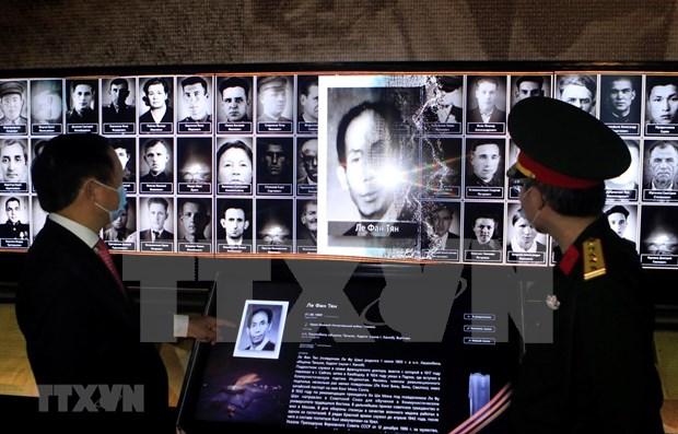 Enaltecen en Rusia a heroes vietnamitas que lucharon en la Gran Guerra Patria hinh anh 1