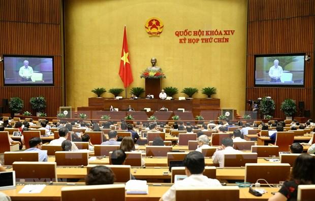 Prosigue Asamblea Nacional de Vietnam su IX perido de sesiones hinh anh 1