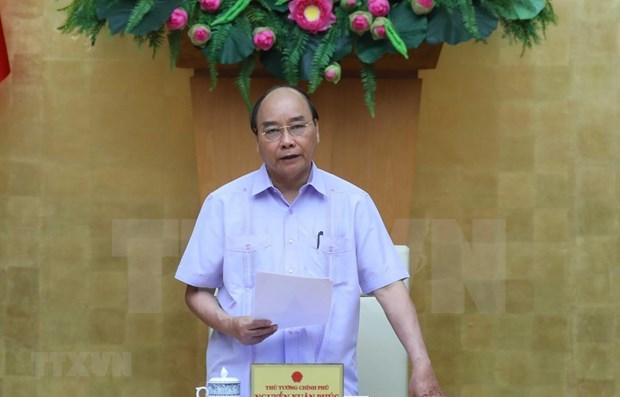 Premier de Vietnam traza orientaciones para mitigacion de consecuencias del COVID-19 hinh anh 1