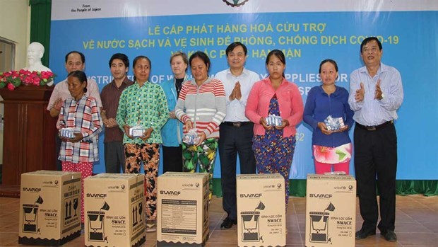 UNICEF Vietnam presenta suministros a residentes vulnerables de Ninh Thuan hinh anh 1