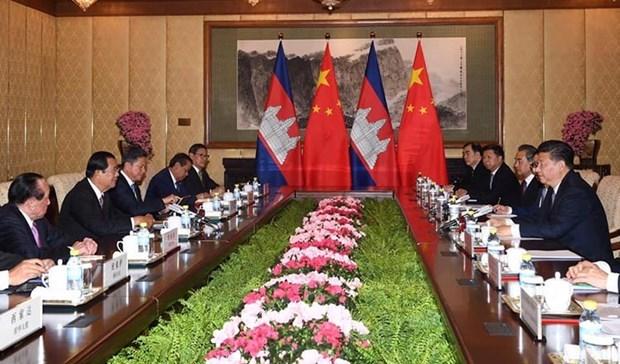 Camboya y China firmaran acuerdo de libre comercio a finales de 2020 hinh anh 1