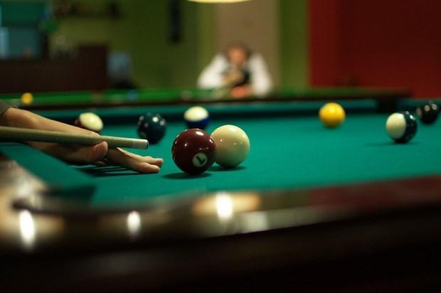 Casi mil atletas participan en Campeonato Nacional de Billar y Snooker 2020 hinh anh 1