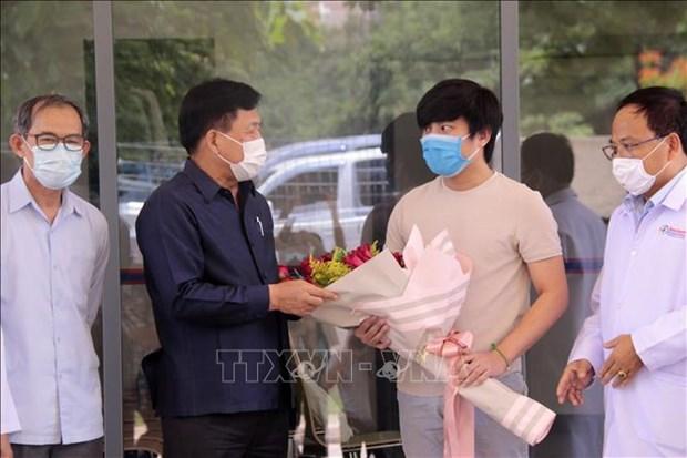 COVID-19: Gobierno laosiano declara su victoria inicial sobre la pandemia hinh anh 1