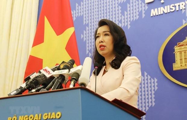Reitera Vietnam soberania nacional sobre Hoang Sa y Truong Sa hinh anh 1