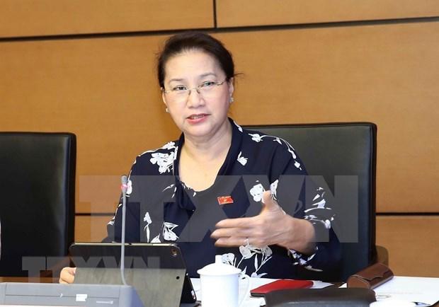 Parlamento de Vietnam se centra en perfeccionar borrador de Ley de Proteccion de Entorno hinh anh 1