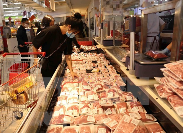 Vetnam triplica sus importaciones de carne de cerdo hinh anh 1