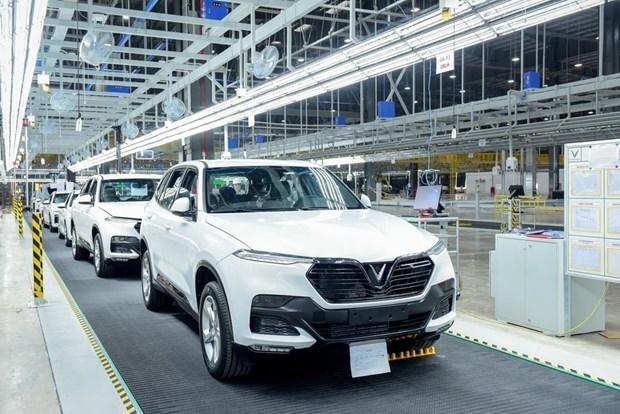 Fabricante automotriz vietnamita VinFast vendio miles unidades en mayo hinh anh 1