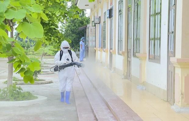 Reporta Vietnam un caso de COVID-19 importado, suman 333 hinh anh 1