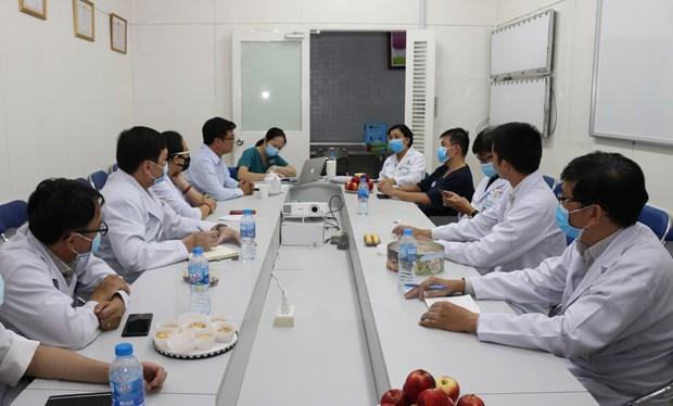 COVID-19: 96,7 por ciento de pacientes recuperados en Vietnam hinh anh 1