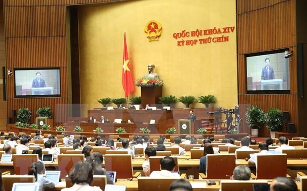 Continua Parlamento de Vietnam su IX periodo de sesiones hinh anh 1