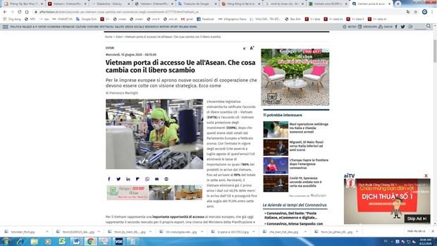 Vietnam: puerta de entrada a la ASEAN de la UE hinh anh 1