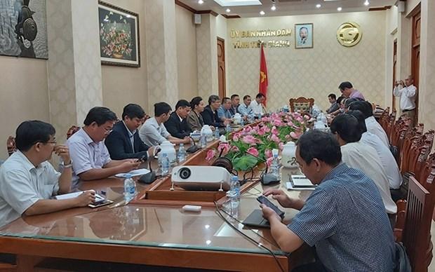 Interesada provincia de Tien Giang en mayores inversiones surcoreanas hinh anh 1
