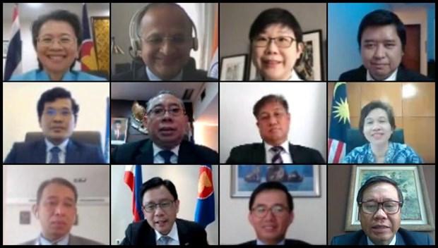 ASEAN y la India profundiza asociacion estrategica hinh anh 1
