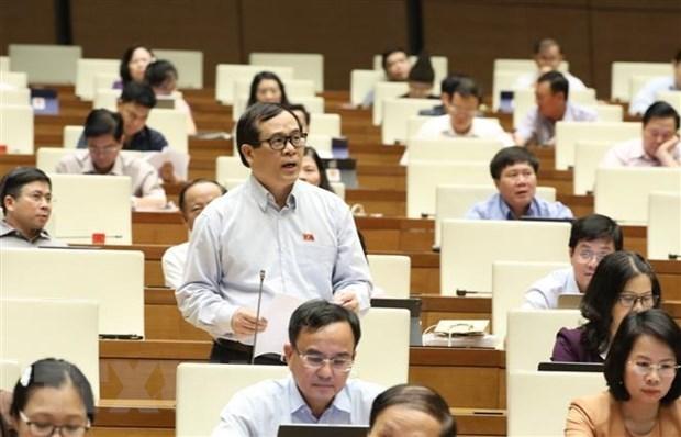 Estudia Asamblea Nacional de Vietnam asuntos socioeconomicos hinh anh 1
