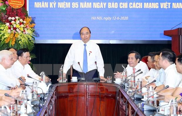 Premier de Vietnam felicita al colectivo de periodistas por Dia de la Prensa Revolucionaria hinh anh 1