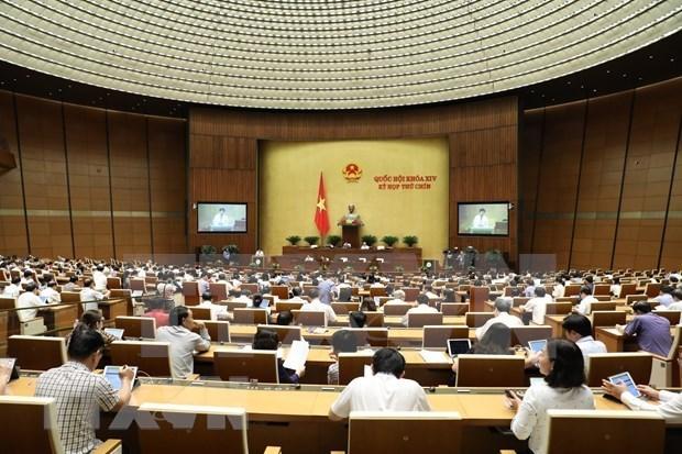 Concluira proxima semana noveno periodo de sesiones del Parlamento de Vietnam hinh anh 1