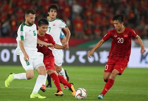 Vietnam recibe invitacion de Iraq para disputar amistoso de futbol hinh anh 1