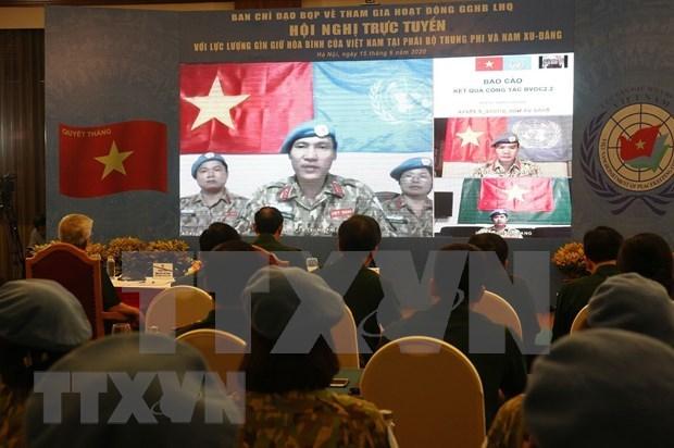 Garantizan seguridad de oficiales vietnamitas en misiones de la ONU hinh anh 1