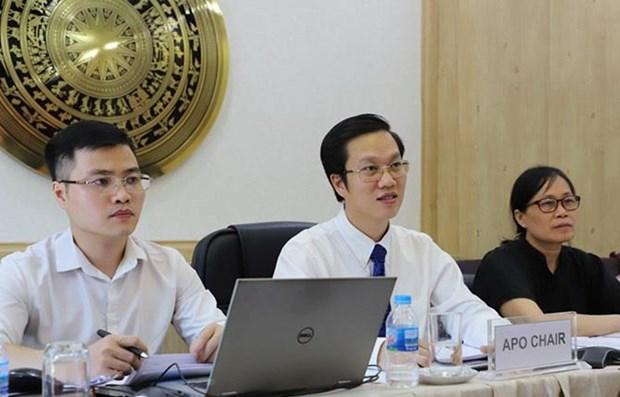 Vietnam por promover colaboracion entre APO y ASEAN hinh anh 1