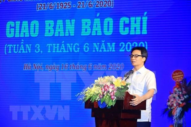 Alaban papel importante de prensa de Vietnam para el desarrollo nacional hinh anh 1