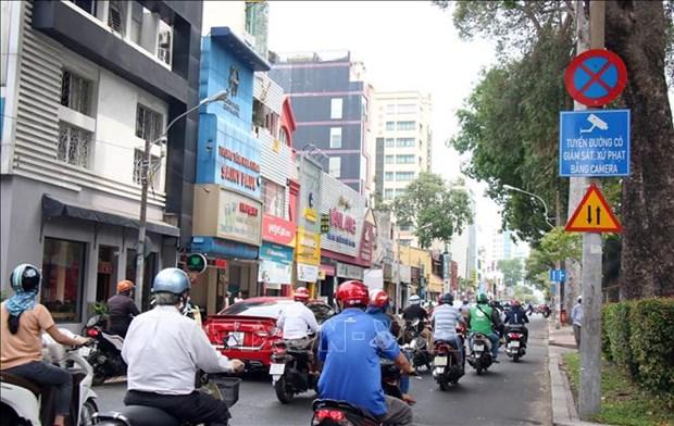 Ciudad Ho Chi Minh desarrolla proyecto piloto de tecnologia para aplicar multas de transito hinh anh 1
