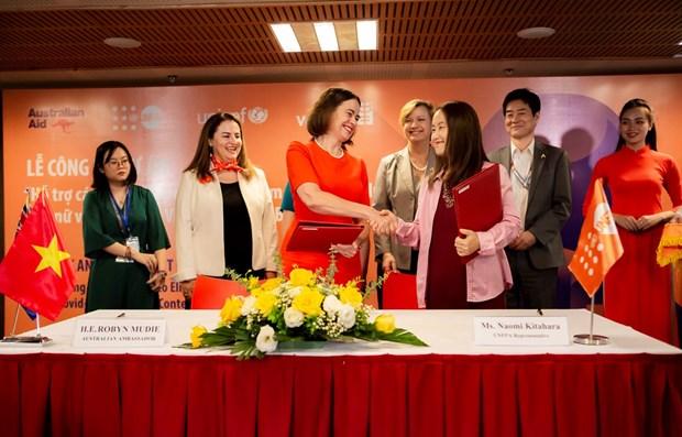 Lanzan en Vietnam programa de proteccion a mujeres y ninos en medio de pandemia hinh anh 1