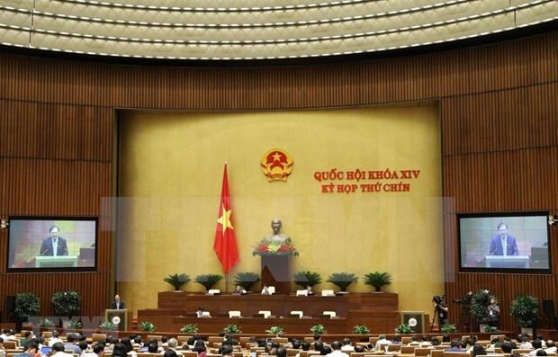 Aprueba Parlamento numerosos proyectos legales hinh anh 1