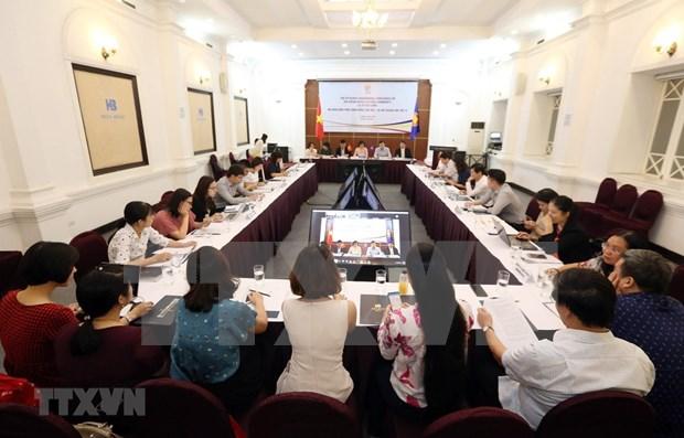 Sesionan conferencia de coordinacion de Comunidad Socio-Cultural de ASEAN hinh anh 1
