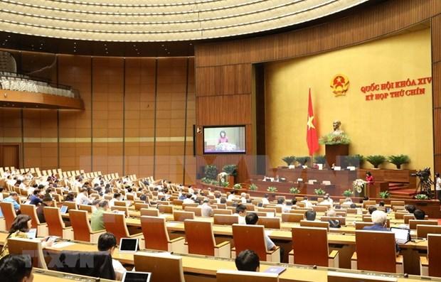 Ratifica Parlamento vietnamita la Ley Empresarial (modificada) hinh anh 1