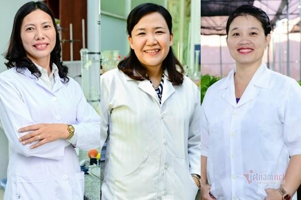 Tres cientificas vietnamitas nombradas entre las 100 investigadoras mas destacadas de Asia hinh anh 1