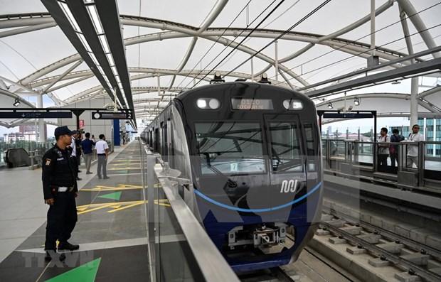 Indonesia destina fondo millonario para servicios de metro en Yakarta hinh anh 1