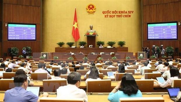 Parlamento vietnamita ratifica resolucion sobre ejecucion de veredictos de disputas segun EVIPA hinh anh 1