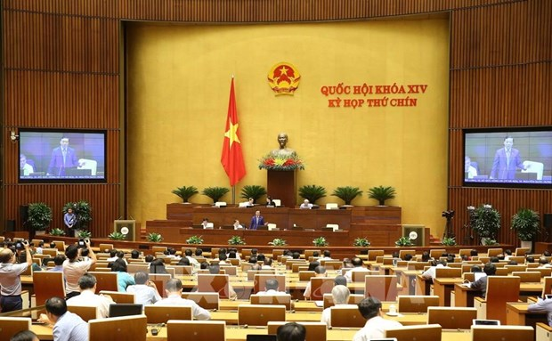 Aprovecha Asamblea Nacional de Vietnam ultimo dia habil del noveno periodo de sesiones hinh anh 1