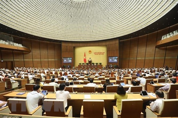 Parlamento de Vietnam aprueba varias politicas especificas de finanzas-presupuesto de Hanoi hinh anh 1