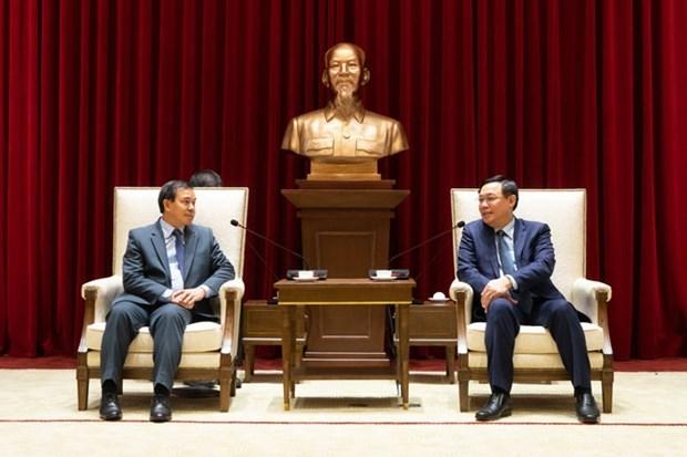 Hanoi se compromete a impulsar lazos con Laos hinh anh 1
