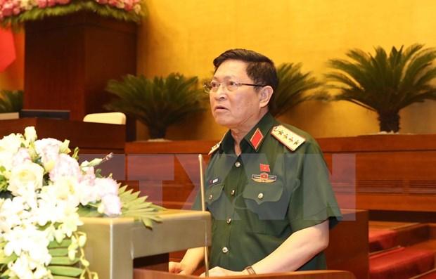 Parlamento de Vietnam analiza la Ley de Defensa Fronteriza hinh anh 1