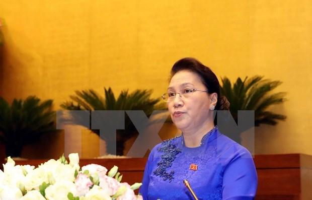 Concluye Asamblea Nacional de Vietnam su IX periodo de sesiones hinh anh 1