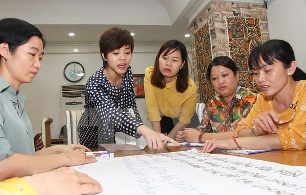 Organizan seminario sobre politicas de asistencia a mujeres repartiadas hinh anh 1