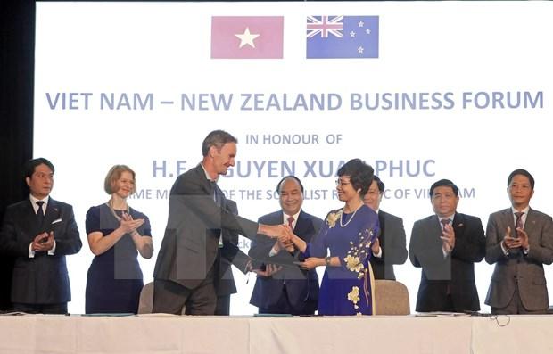 Promueven relaciones comerciales entre Vietnam y Nueva Zelanda hinh anh 1