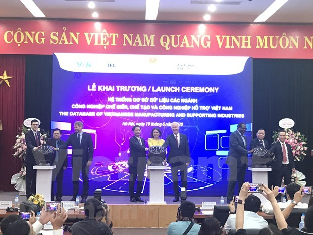 Lanzan en Vietnam sistema de base de datos de industrias auxiliares hinh anh 1
