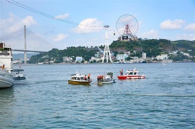 Recibe provincia vietnamita de Quang Ninh a mas de 1,2 millones de turistas durante un mes hinh anh 1