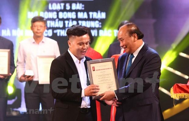 Entregan en Vietnam premios a obras periodisticas mas destacadas hinh anh 1