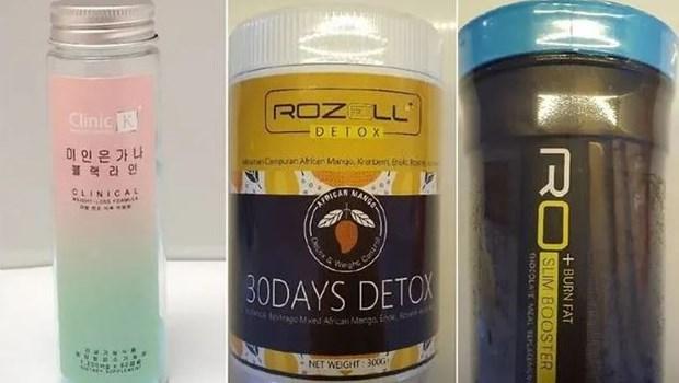 Singapur advierte sobre contraindicacion de productos para perder peso hinh anh 1