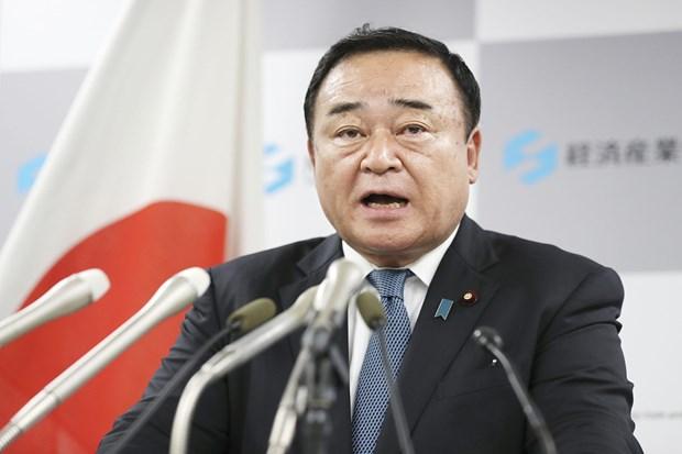 Ministro japones de Economia, Comercio e Industria participara en reunion sobre RCEP hinh anh 1