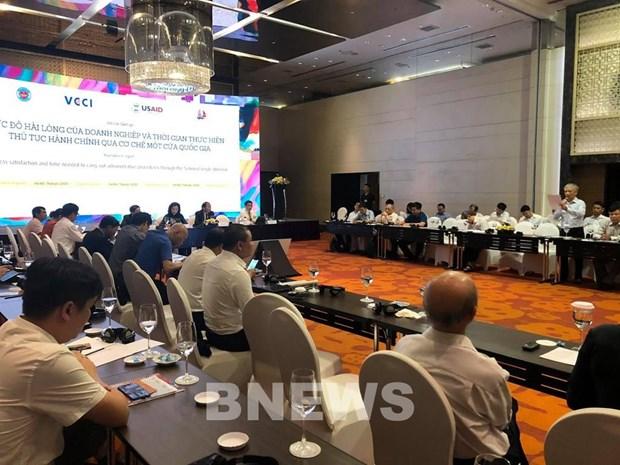 Empresas vietnamitas aprecian efectividad del mecanismo de ventanilla nacional unica hinh anh 1