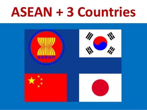 ASEAN y socios acuerdan elevar eficiencia del acuerdo multilateral sobre divisas hinh anh 1