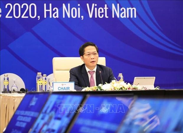 Sesiona en Hanoi decima Reunion Ministerial de RCEP hinh anh 1